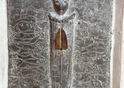 """Model, """"das Fischwunder"""", Steinguss, Metall, H/B/T,  ca. 25/20/10, 2012"""