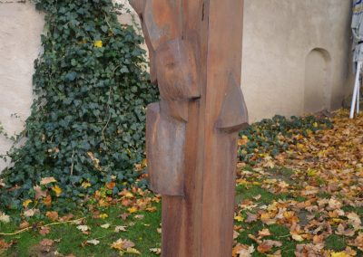 """""""der entfesselte Prometheus"""", Stahl geschmiedet, H/B/T   190/60/40cm"""
