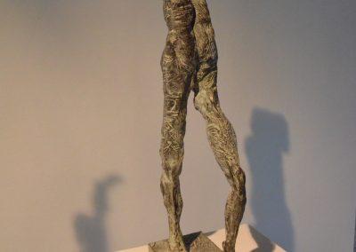 """""""der zerbrochene Krug"""" Bronze , H/B/T  56/14/23 cm"""