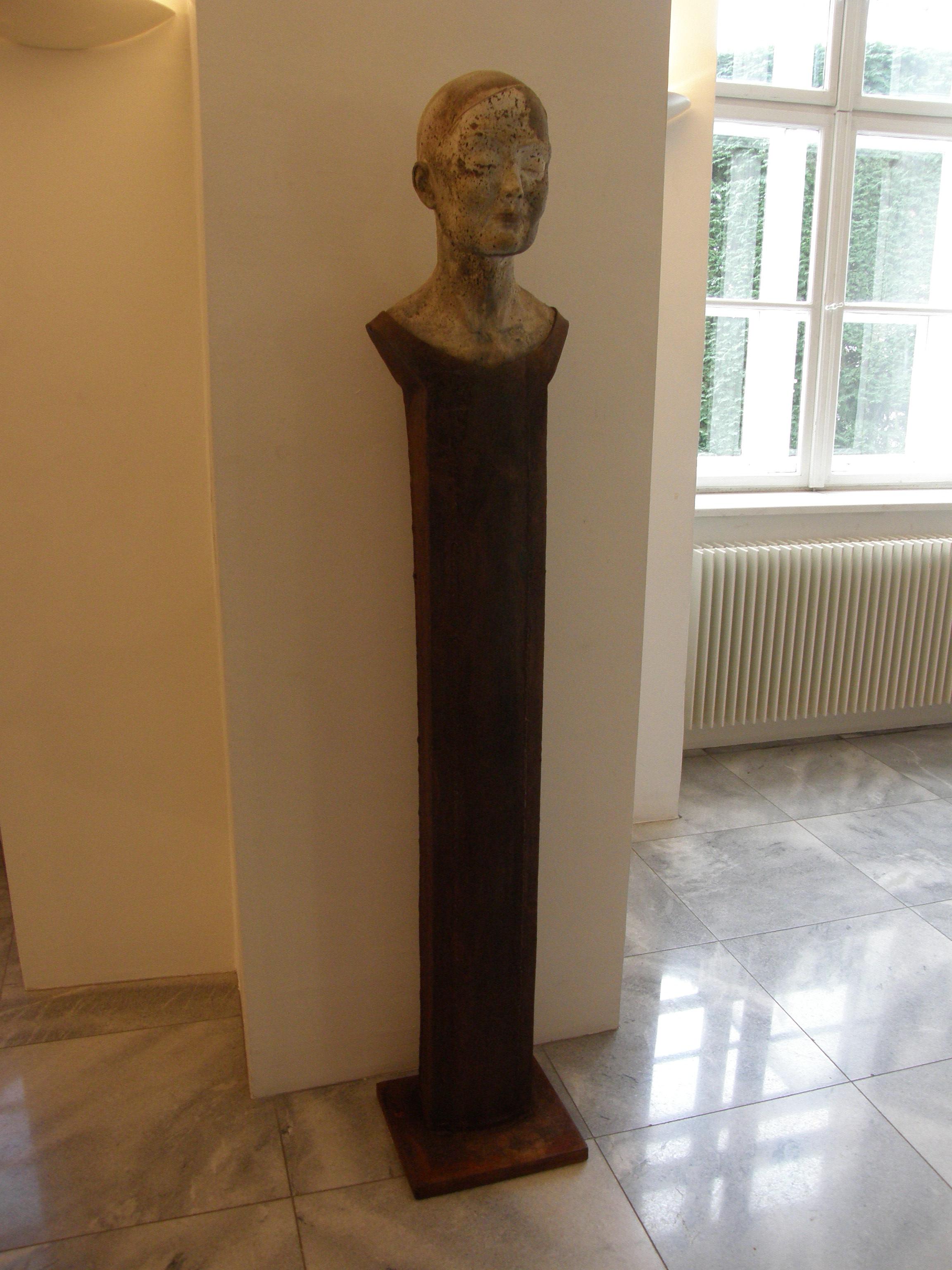 """Miwa II"" Steinguss, Stahl, 2011"