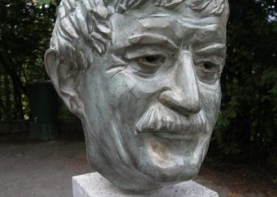 Franz M., Steinguss, 2008